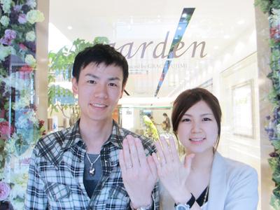 美しく、素敵な指輪をありがとうございます