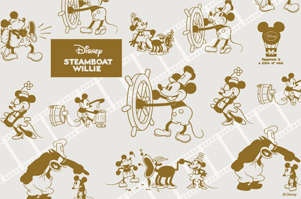 Disney STEAMBOAT WILLIE