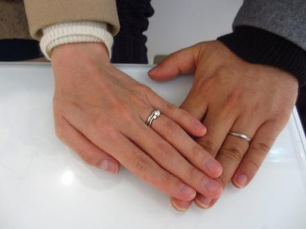 お気に入りの指輪を選べました。