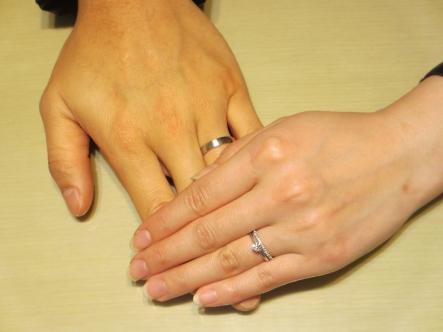 お気に入りの指輪に出会うことが出来ました!