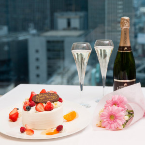 大阪のサプライズプロポーズ HOTEL GRANVIA OSAKA