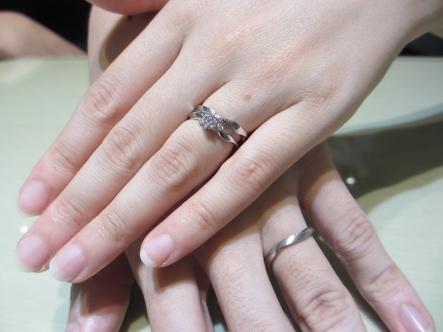 満足のいく指輪を選ぶことができました。