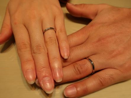 ステキな指輪に決めることが出来ました。
