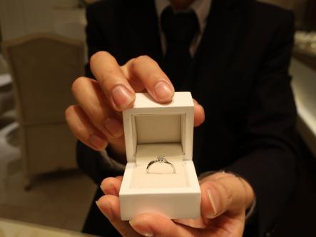 すばらしい指輪を選ぶことができました。