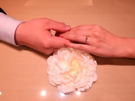 良い指輪選びが出来ました!