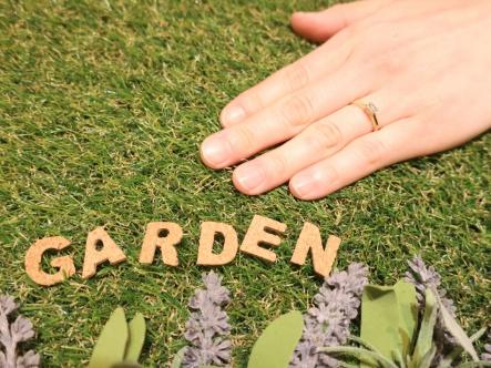 gardenさんにお願いして良かったです。