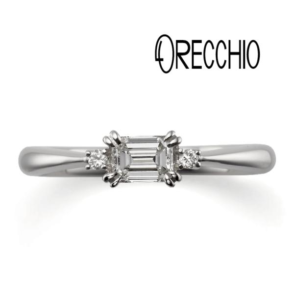 ORECCHIOの婚約指輪で大阪梅田の正規取扱店2