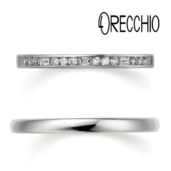 ORECCHIOの結婚指輪で大阪梅田の正規取扱店2