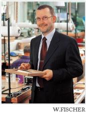 ドイツの鍛造メーカーであるフィッシャー・FISCHERの社長