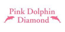 ピンクドルフィンダイヤモンドのロゴ