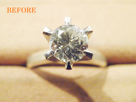 叔母様からもらったダイヤを娘にあげたい。