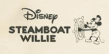 ディズニースチームボートウィリーのロゴ