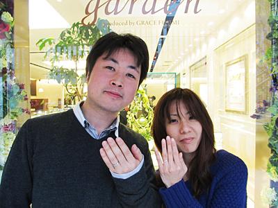 指輪のブランドが豊富です!!