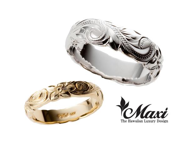 ハワイアンジュエリーのMaxiマキシの指輪
