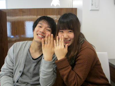 素敵な指輪をありがとうございました。