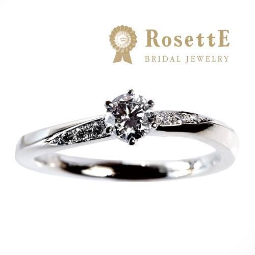 京都で人気の婚約指輪でロゼットのMOON LIGHT〜月あかり〜