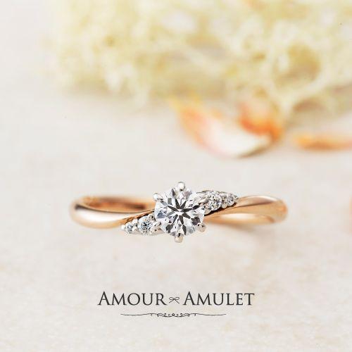 神戸の方に大人気の婚約指輪でアイリスの画像