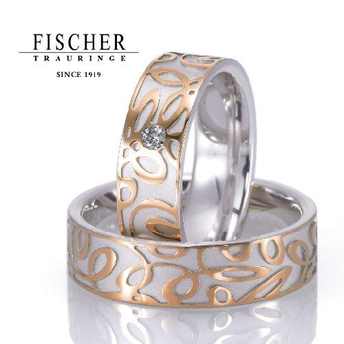 ドイツの鍛造メーカーであるフィッシャー・FISCHERの結婚指輪で273シリーズ