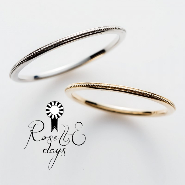 10万円でそろう結婚指輪RosettEdaysのRosemary