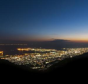 大阪gardenのサプライズプロポーズ 六甲山