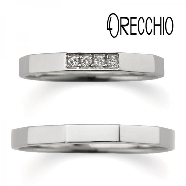 ORECCHIO結婚指輪オレッキオ大阪梅田