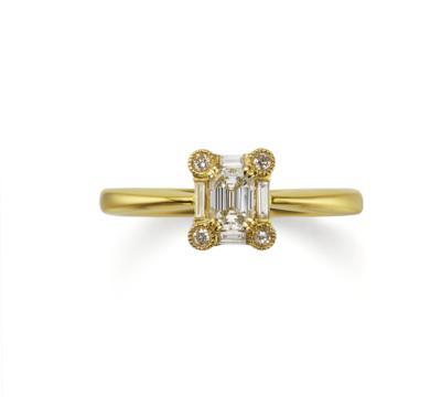 京都で人気の婚約指輪でオレッキオのLF1075【シエナコレクション】