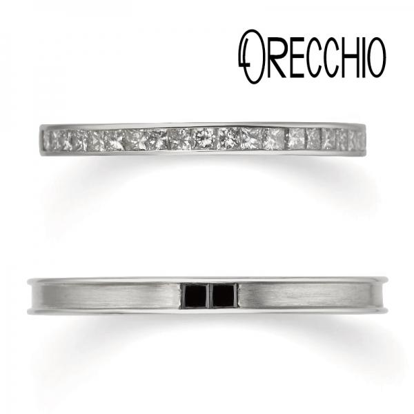 ORECCHIOの結婚指輪で大阪梅田の正規取扱店5