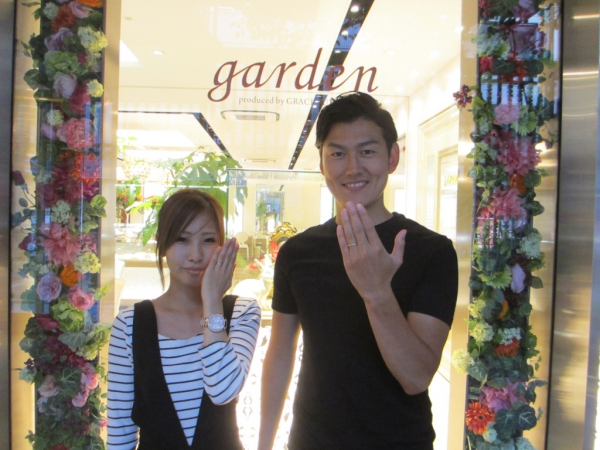 guiraとMilk&Strawberryをご成約のお客様KA