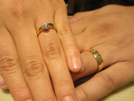 お気に入りの結婚、婚約指輪になりました♡