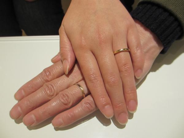 素敵な指輪を選ぶ事が出来ました!
