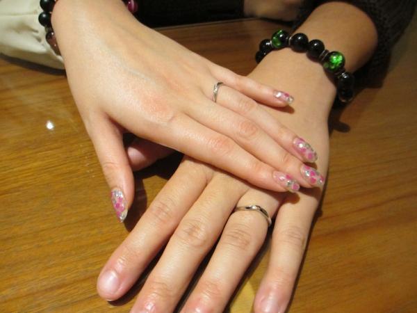 素敵な指輪選びをスムーズにできました!