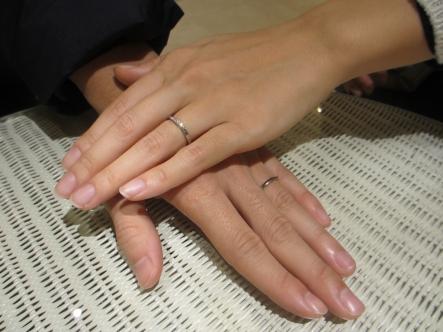 思い通りの指輪が見つかりました。