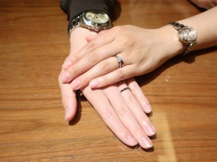 アドバイスも頂けて、気にいった指輪を選ぶことが出来ました!