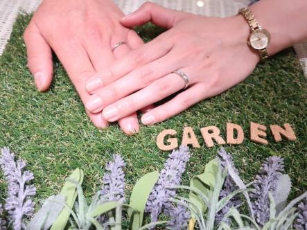 満足のいく指環を選ぶ事が出来ました!