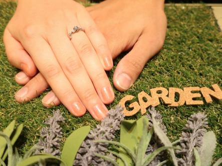 とても楽しくお気に入りの指輪を選ぶ事が出来ました!