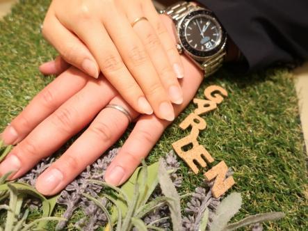 お気に入りの指輪に出会うことが出来ました。