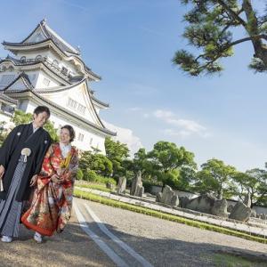 大阪gardenのサプライズプロポーズ 岸和田城周辺