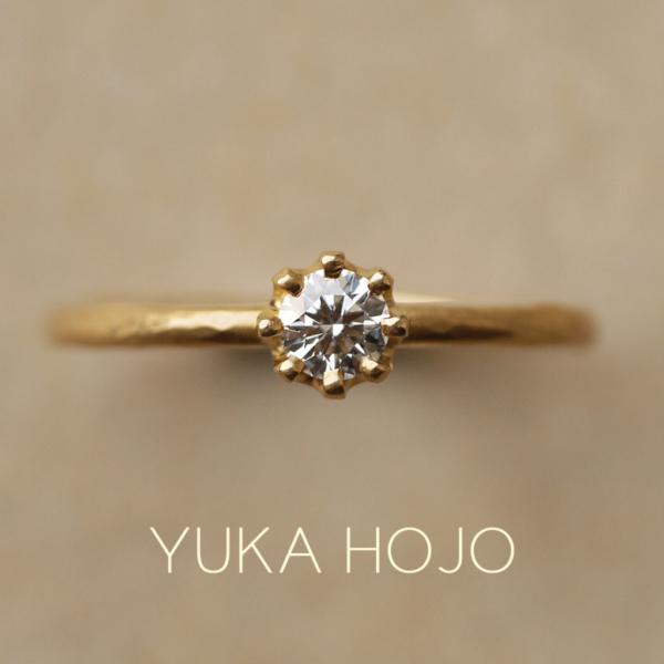 ユカホウジョウの婚約指輪で人気のカプリ