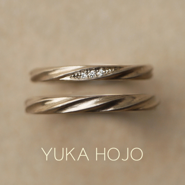 ユカホウジョウの結婚指輪で人気のカレント