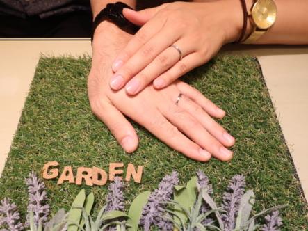 楽しく指輪を選ぶことができたので良かったです!
