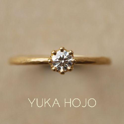 京都の人気な婚約指輪でユカホウジョウのCapri カプリ