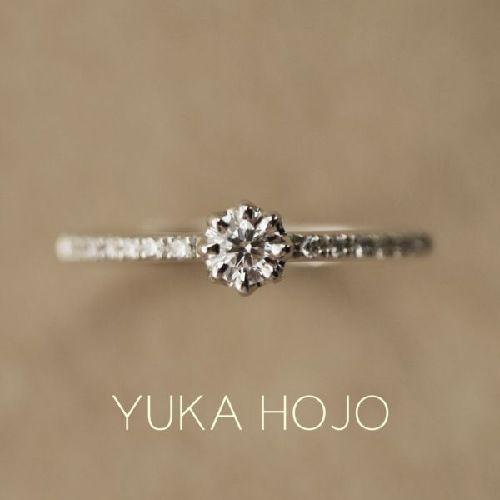 京都の人気の婚約指輪でユカホウジョウでHeavenヘブン
