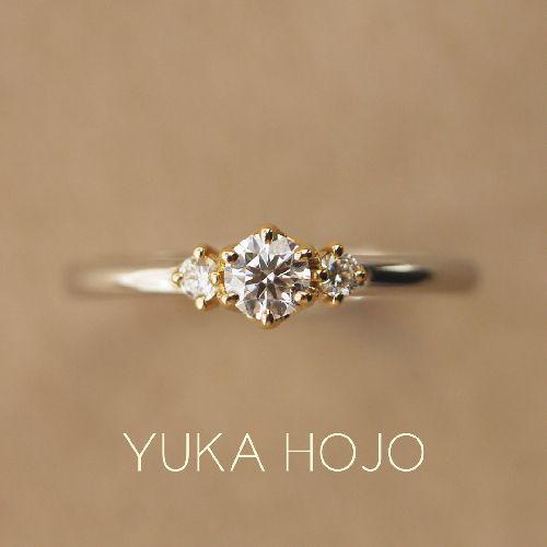 京都ので人気の婚約指輪でユカホウジョウのStory ものがたり