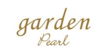 真珠のブランドでgardenパールのロゴ