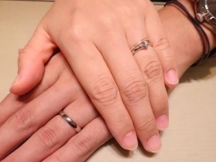 色んな指輪を見て気に入るものを選べたので良かったです!
