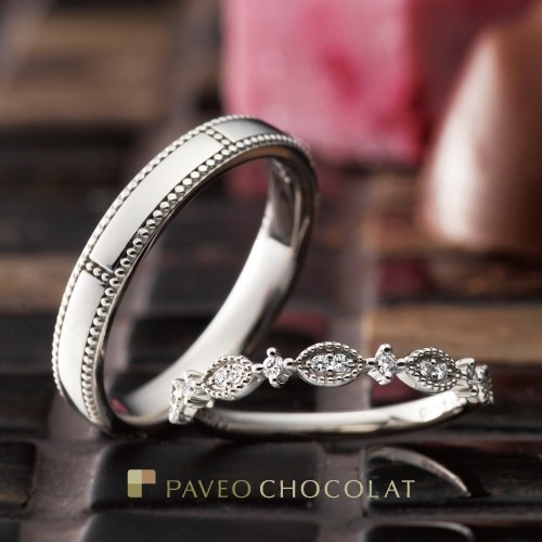 アンティーク調かわいいダイヤ個性派結婚婚約指輪を大阪で探すなら関西最大級ブライダルリングセレクトショップgarden梅田