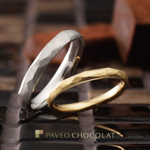 アンティーク調かわいい個性派ダイヤ無し結婚指輪を大阪で探すなら関西最大級ブライダルリングセレクトショップgarden梅田