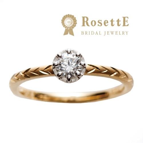 アンティーク調かわいい個性派デザイン婚約指輪を大阪で探すなら関西最大級ブライダルリングセレクトショップgarden梅田