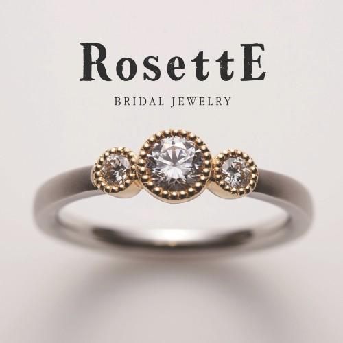 アンティーク調重厚感マット個性派結婚婚約指輪を大阪で探すなら関西最大級ブライダルリングセレクトショップgarden梅田