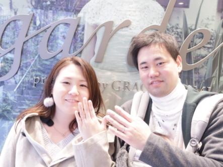 ORECCHIOの結婚指輪 神戸市東灘区